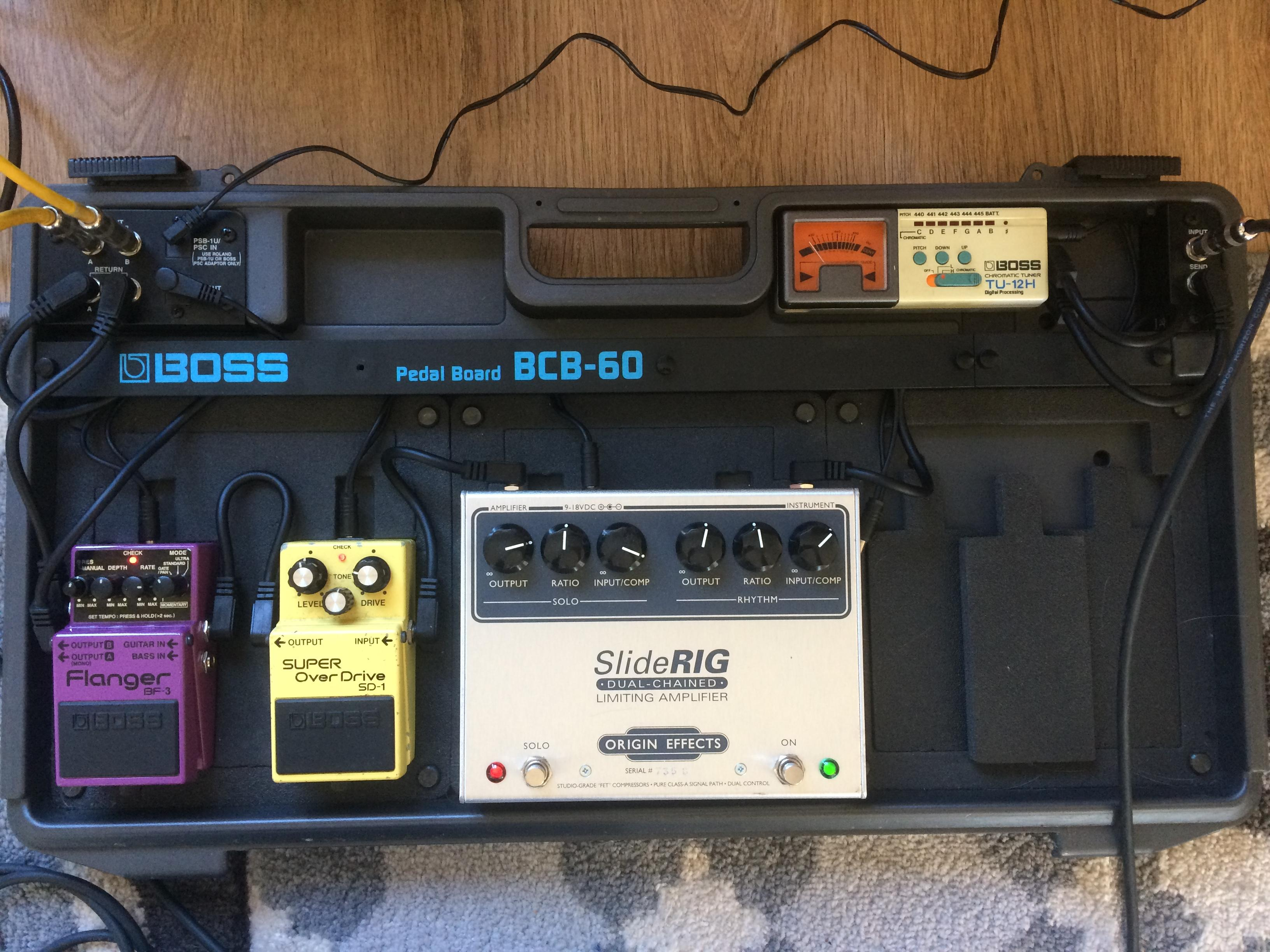 current pedal board